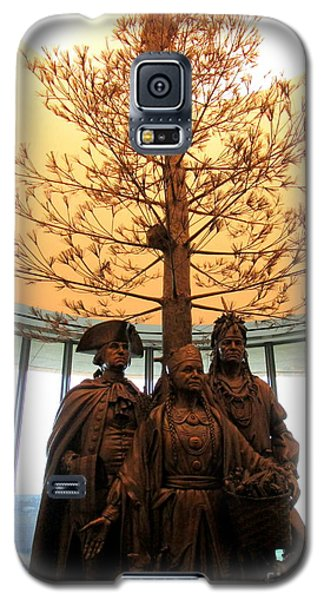 National Museum Of The American Indian 7 Galaxy S5 Case by Randall Weidner