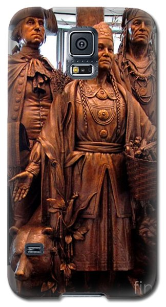 National Museum Of The American Indian 8 Galaxy S5 Case by Randall Weidner