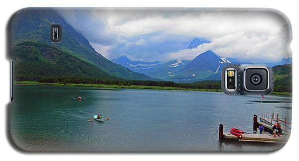 National Parks. Serenity Of Mcdonald Galaxy S5 Case by Ausra Huntington nee Paulauskaite