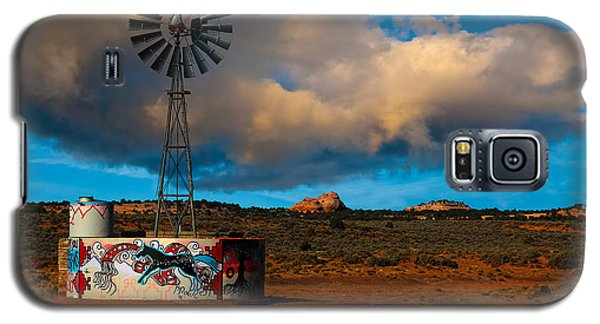 Native American Windmill Galaxy S5 Case