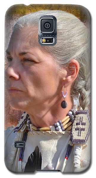 Native American Woman Galaxy S5 Case
