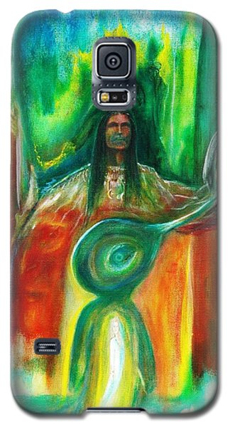 Native Awakenings Galaxy S5 Case by Kicking Bear  Productions