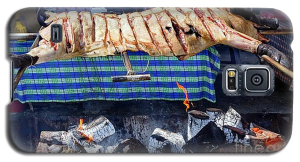 Galaxy S5 Case featuring the photograph Native Barbecue In Taiwan by Yali Shi