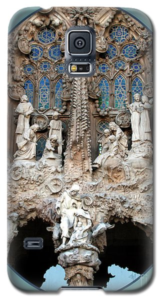 Galaxy S5 Case featuring the photograph Nativity Barcelona by Victoria Harrington