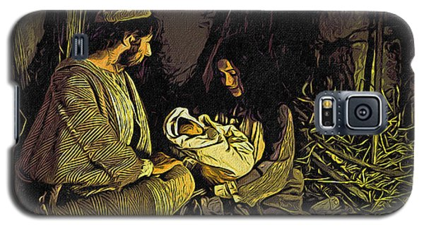 Nativity Scene Galaxy S5 Case