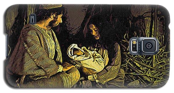 Nativity Scene Galaxy S5 Case