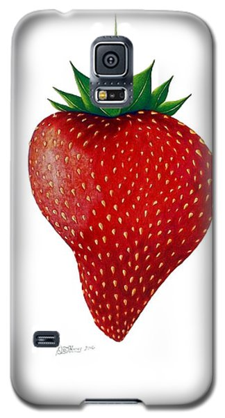 Galaxy S5 Case featuring the drawing Natural Beauty by Danielle R T Haney