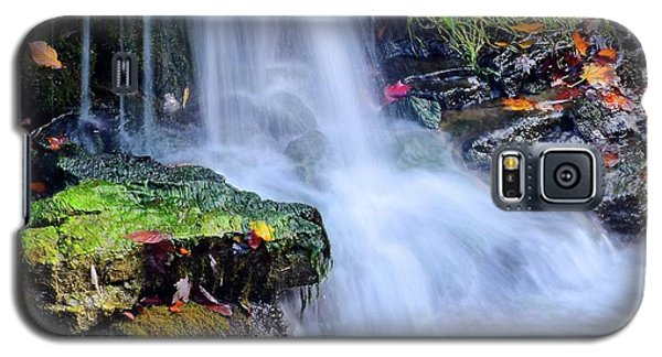 Galaxy S5 Case featuring the photograph Natural Flowing Water by Frozen in Time Fine Art Photography