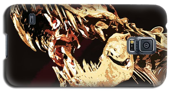 Natural History- T Rex Galaxy S5 Case