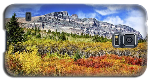 Natural Layers In Glacier National Park Galaxy S5 Case