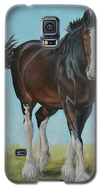 Natural Pose Galaxy S5 Case