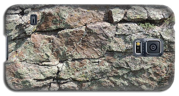 Natural Stone Wall Galaxy S5 Case by Jayne Wilson