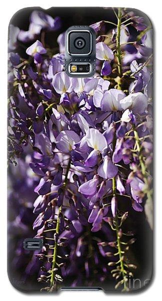 Natural Wisteria Bouquet Galaxy S5 Case