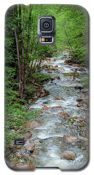 Naturally Pure Stream Backroad Discovery Galaxy S5 Case
