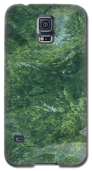 Galaxy S5 Case featuring the photograph Nature Trees Fractal by Skyler Tipton