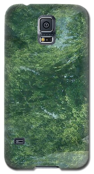 Nature Trees Fractal Galaxy S5 Case by Skyler Tipton