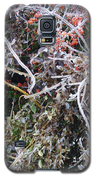 Galaxy S5 Case featuring the photograph Natures Art  by Kristine Nora
