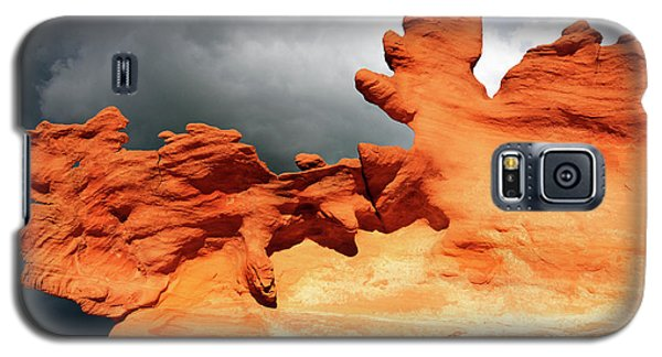 Galaxy S5 Case featuring the photograph Nature's Artistry Nevada 2 by Bob Christopher