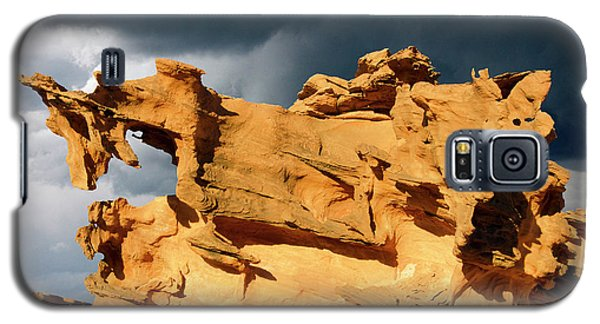 Galaxy S5 Case featuring the photograph Nature's Artistry Nevada 3 by Bob Christopher