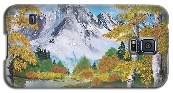 Galaxy S5 Case featuring the painting Nature's Beauty by Sharon Duguay