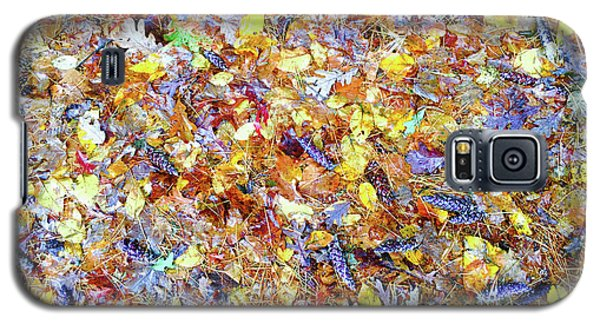 Natures Fall Falling Patterns Galaxy S5 Case