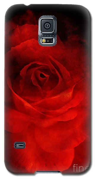 Galaxy S5 Case featuring the photograph Natures Flame by Stephen Mitchell
