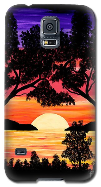 Nature's Gift - Ocean Sunset Galaxy S5 Case