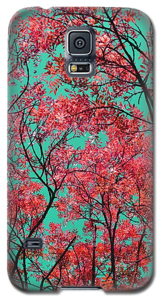 Natures Magic - Fire Red Galaxy S5 Case