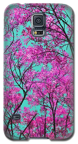 Natures Magic - Pink And Blue Galaxy S5 Case