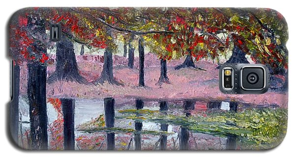 Galaxy S5 Case featuring the painting Natures Painting by Marilyn  McNish