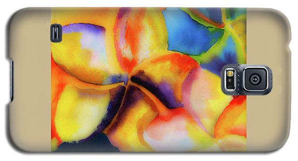 Galaxy S5 Case featuring the painting Nature's Pinwheels by Stephen Anderson