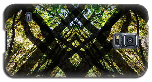 Natures Stain Glass Galaxy S5 Case