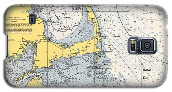 Vintage Cape Cod Nautical Chart 1945h Galaxy S5 Case