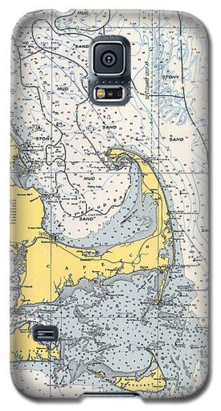 Nautical Chart Of Cape Cod 1945v Galaxy S5 Case