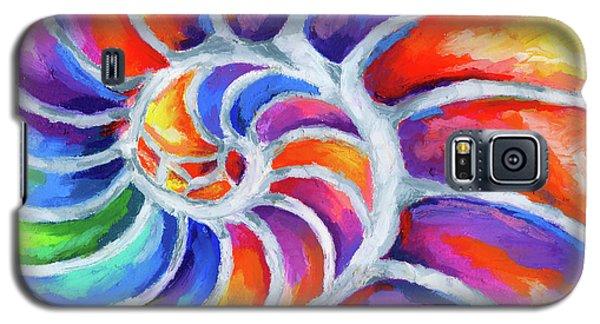 Nautilus Curves Galaxy S5 Case