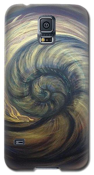 Nautilus Spiral Galaxy S5 Case
