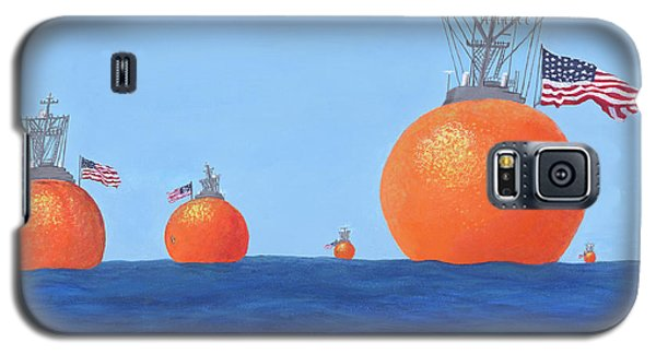 Naval Oranges Galaxy S5 Case