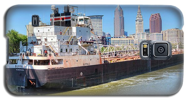 Galaxy S5 Case featuring the photograph Navigating The Cuyahoga by Brent Durken