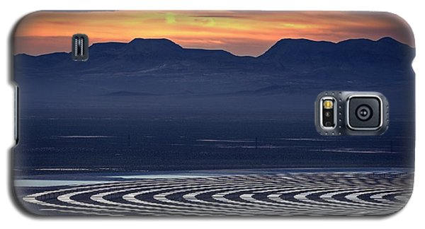 Galaxy S5 Case featuring the photograph Nay For Fossil Fuel. Yea For Renewable Energy by Peter Thoeny