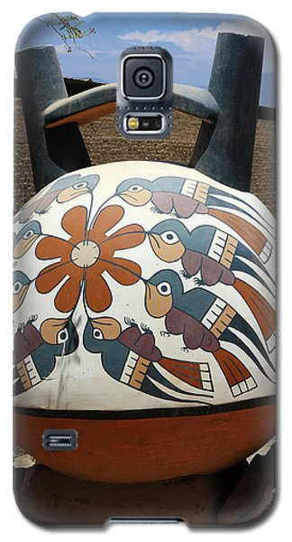 Galaxy S5 Case featuring the photograph Nazca Ceramics Peru by Aidan Moran