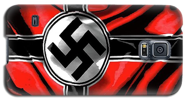 Nazi Flag Color Added 2016 Galaxy S5 Case