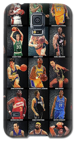 Nba Legends Galaxy S5 Case