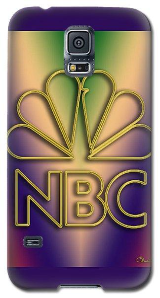 Galaxy S5 Case featuring the digital art N B C Logo - Chuck Staley by Chuck Staley