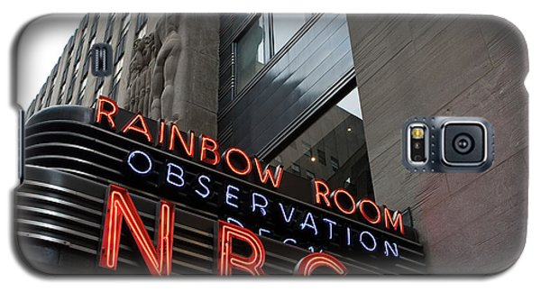 Nbc Studio Rainbow Room Sign Galaxy S5 Case