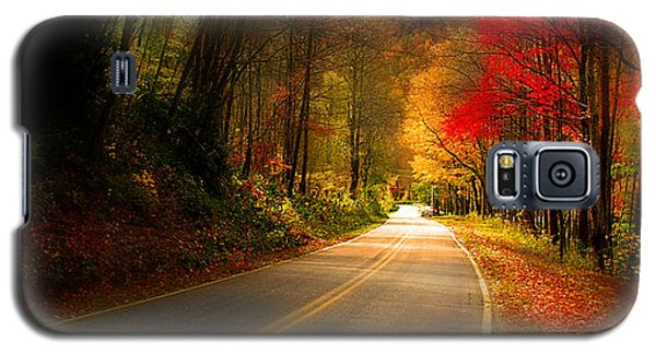 Nc Mountain Fall Drive Galaxy S5 Case