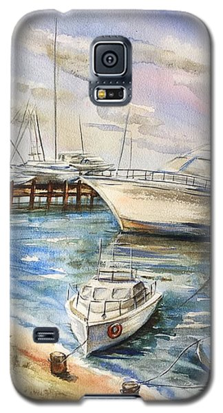 Near The Harbour 2 Galaxy S5 Case