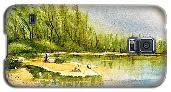 Near The Lake 4 Galaxy S5 Case