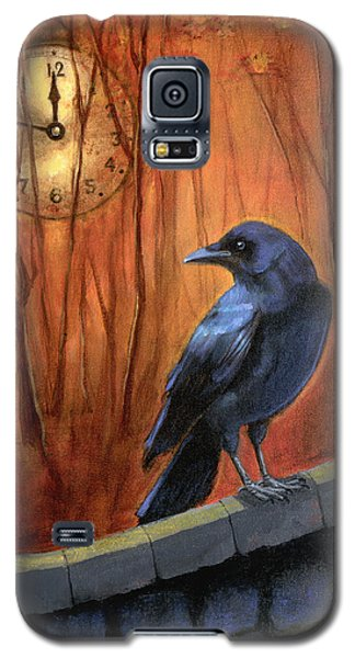 Galaxy S5 Case featuring the painting Nearing Midnight by Terry Webb Harshman