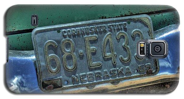 Nebraska Plate Galaxy S5 Case