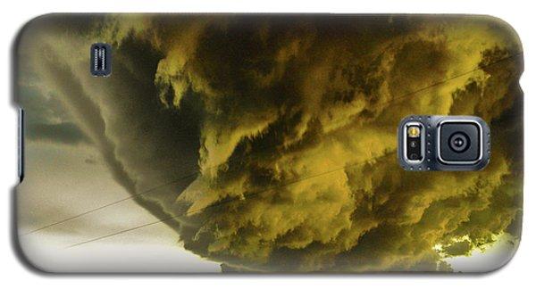 Nebraska Supercell, Arcus, Shelf Cloud, Remastered 018 Galaxy S5 Case